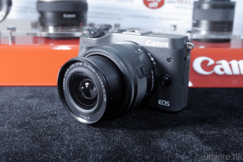 Canon EOS M6 Kit EF-M 15-45mm IS STM 相機連鏡頭套裝 [2色]
