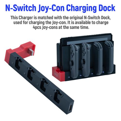 iPega PG-9186 Nintendo Switch手制充電器 JoyCon左右手制充電底座
