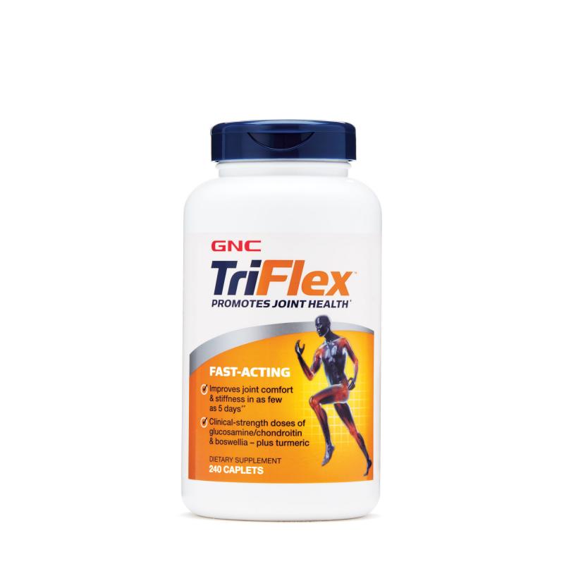 GNC TriFlex 5合1 3倍活速效關節配方 (TriFlex Fast Acting) (240粒)
