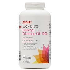 GNC - 女士健康月見草油1300毫克 (180粒超值裝)