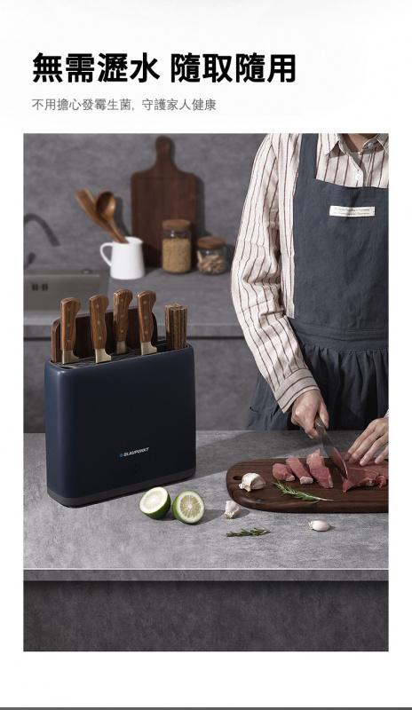 Blaupunkt 德國藍寶智能消毒刀架刀具砧板紫外線烘乾菜板筷子消毒機