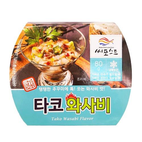 韓國Seapost 即食芥末章魚 [80g]