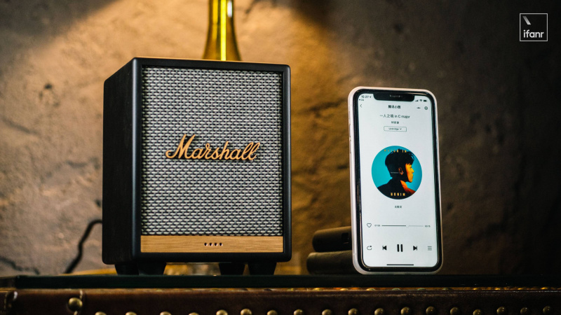 [香港行貨] Marshall Uxbridge (Google Voice) 藍牙喇叭