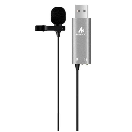 MAONO AU-411 Lavalier USB夾式電容咪