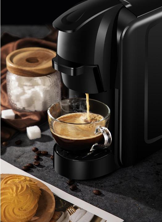 Viaggio Espresso 三合一膠囊咖啡機連30盒膠囊套裝(300粒咖啡膠囊+咖啡機黑色)