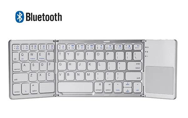 藍牙折疊式袖珍無線鍵盤 [兼容Android, iOS, Windows系統] [2色]