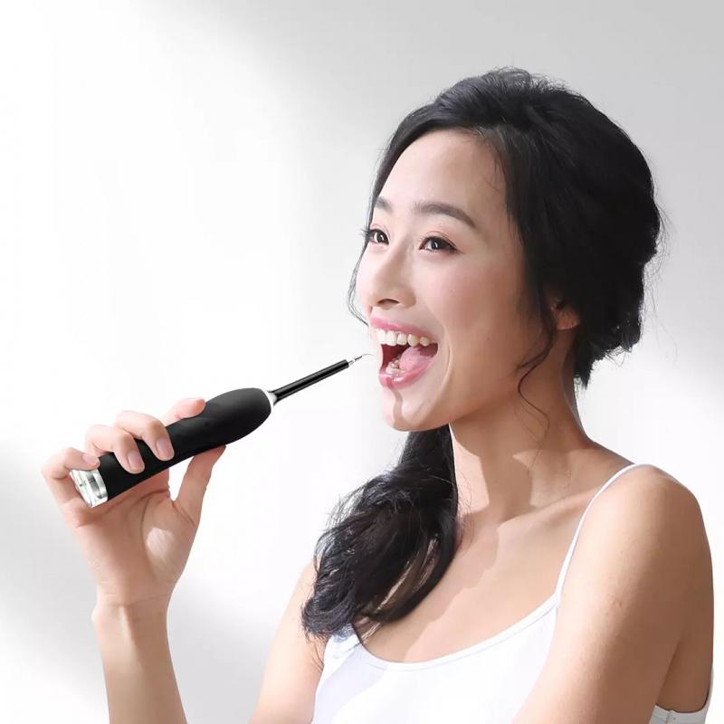 【小米有品】YMYM聲波振動潔牙儀去除牙結石牙垢 YC1 黑色