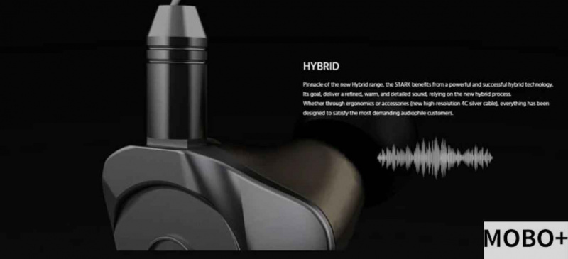 EarSonics STARK 混合單元耳機