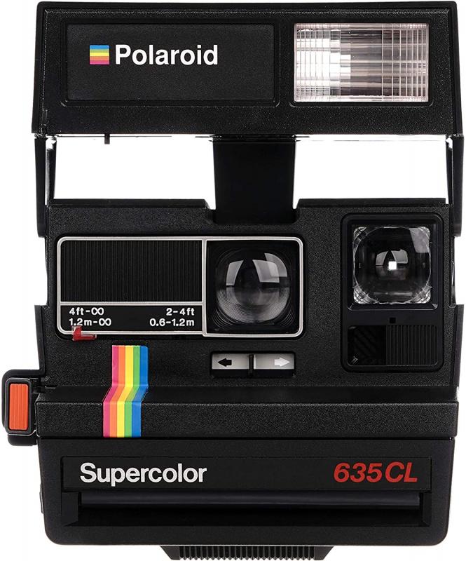 Polaroid Vintage 600 即影即有相機 [黑色]