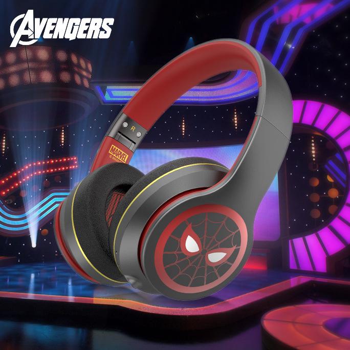 漫威正版授權 新款頭戴式重低音無線藍牙耳機 【3款】