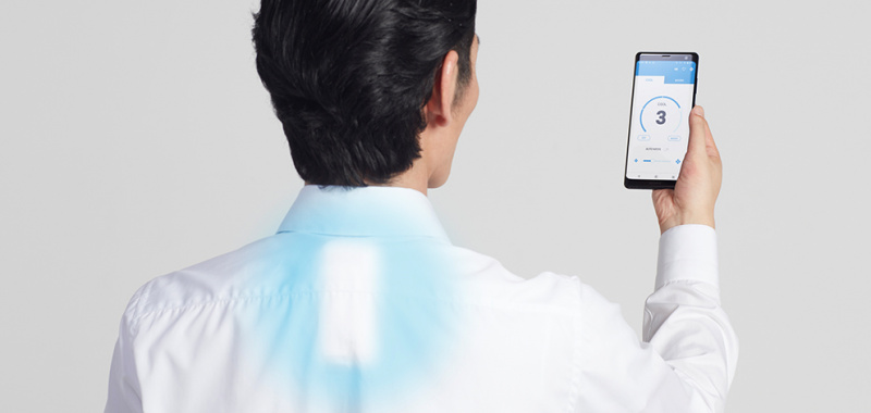 Sony REON POCKET 穿戴式冷暖連專用內衣 (RNP-1A) [S/M/L尺碼]