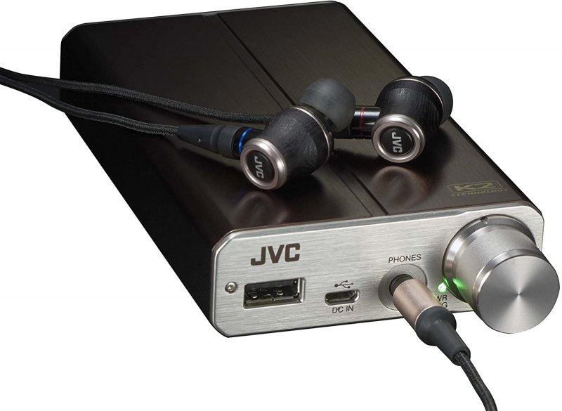 【香港行貨】JVC HA-FW01 WOOD DOME 木製耳機