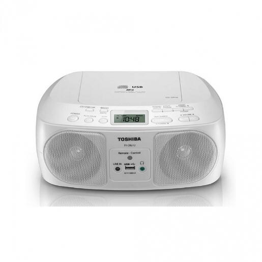 東芝 Toshiba TY-CRU12 便攜式CD收音機 【香港行貨 1年保用】