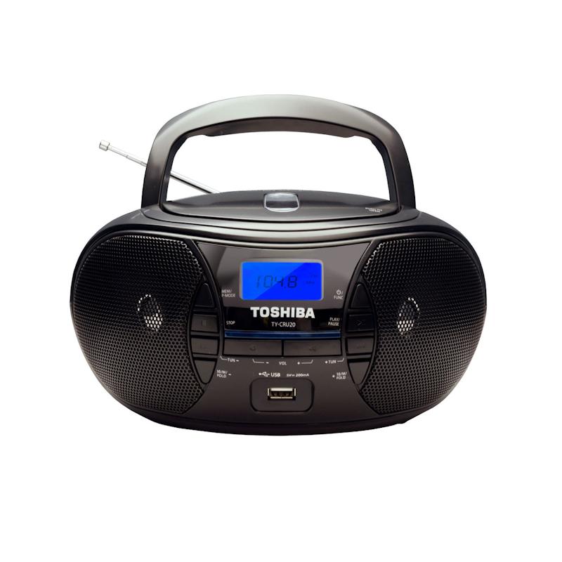 東芝 Toshiba TY-CRU20 便攜式CD收音機 FM【香港行貨】