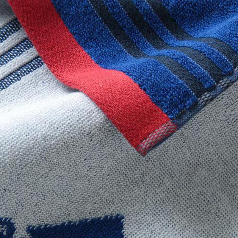 日版 Adidas【藍色】運動方巾(146) 25x25cm【市集世界 - 日本市集】