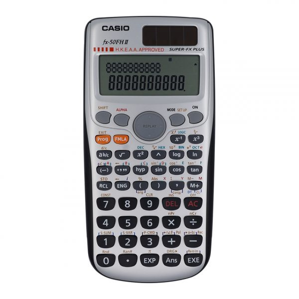 Casio - 科學型計數機 FX-50FH II (Hong Kong HKEAA Approval)