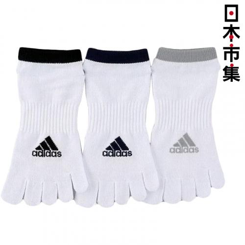 日版 Adidas 3對裝5指運動襪(652) 24~26cm【市集世界 - 日本市集】