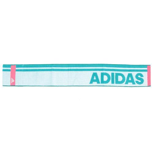 日版 Adidas【湖水綠粉紅間】運動毛巾(963) 12x85cm【市集世界 - 日本市集】