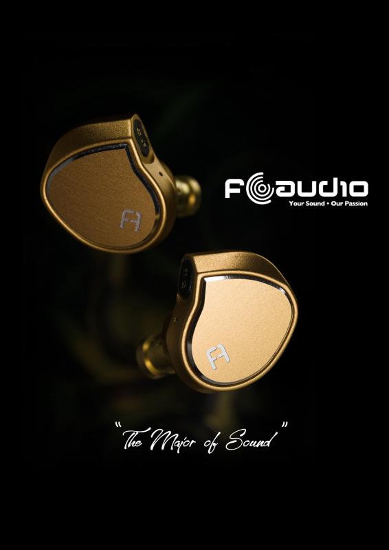 FAudio Major 旗艦級 神圈 動圈單元 耳機 配高階 單晶銅升級線 CM 2-Pin 插頭