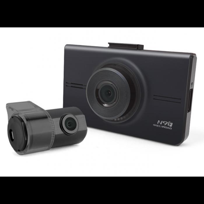 IROAD 前1080p 後720p 雙鏡高清行車記錄儀 N9F
