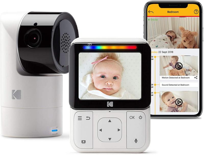 Kodak CHERISH C225 BABY MONITOR (WHITE) 柯達智能視頻嬰兒監視器