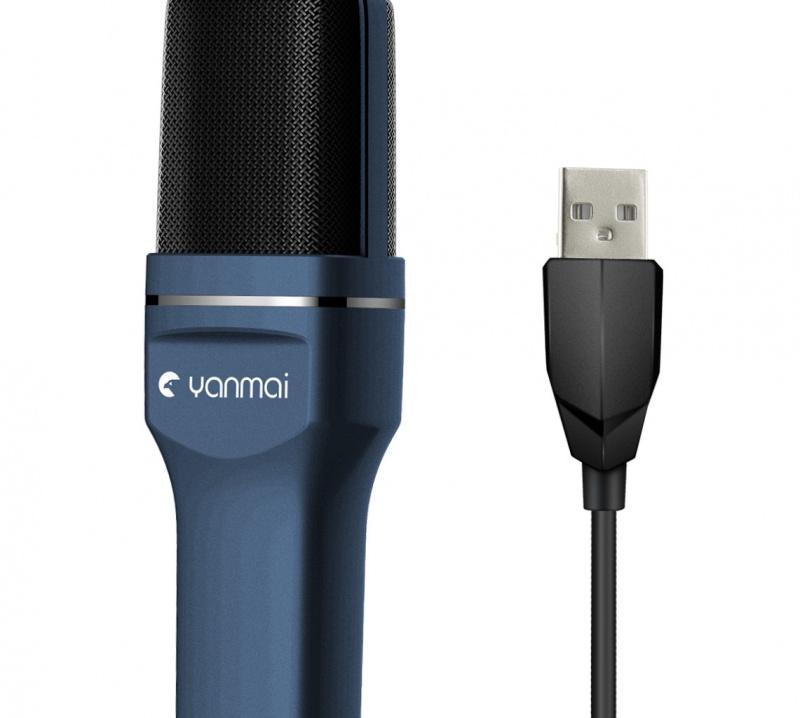 Yanmai USB 電容單指向性麥克風 Microphone SF-777【2色】