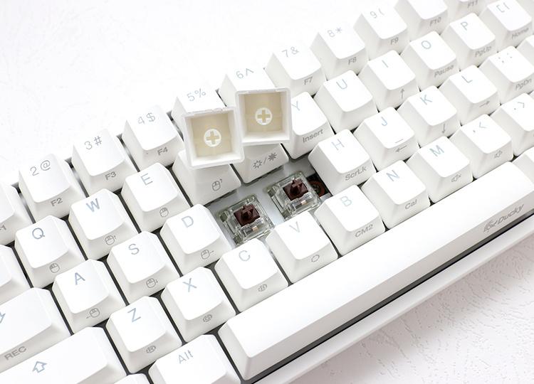 Ducky One 2 Mini RGB 機械式鍵盤 [白色] [4軸]