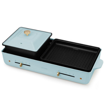 【香港行貨】Nathome 第二代涮烤一體燒烤爐 NSK20 - 白色