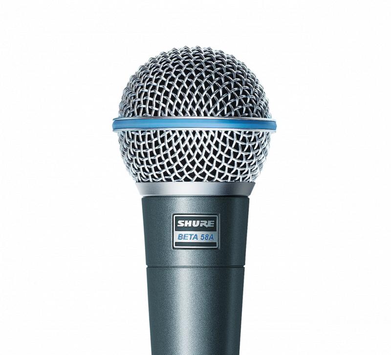 Shure Beta 58A 人聲話筒 Dynamic Microphone/動圈式麥克風