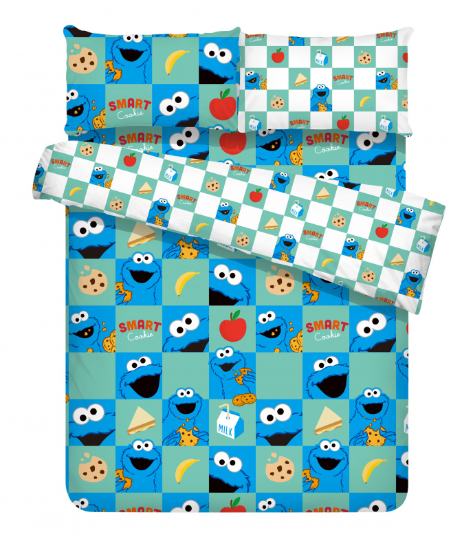 Bursa 蓓莎Sesame Street Smart Cookie 床品套裝 [BUR-552]