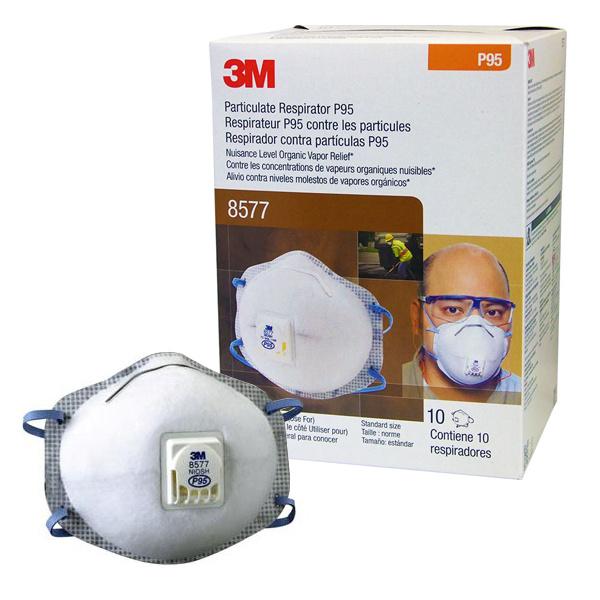 3M 8577 P95 防菌口罩 一盒10個