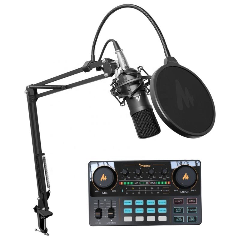 MAONO MAONOCASTER AU-AM200 便攜式多合一播客製作工作室