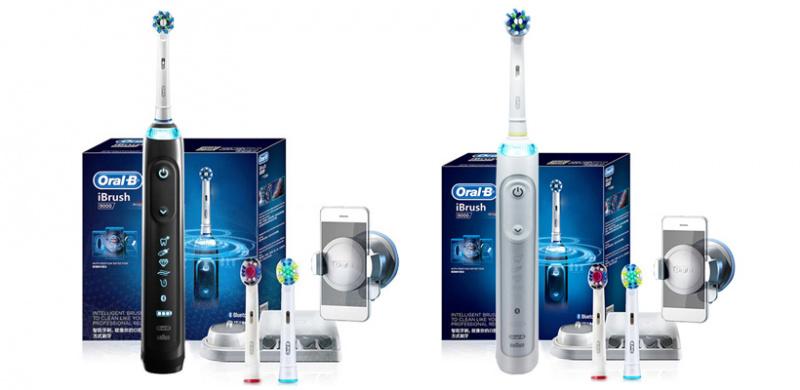 Oral-b iBrush 9000 3D聲波藍牙智能電動牙刷 [2色]