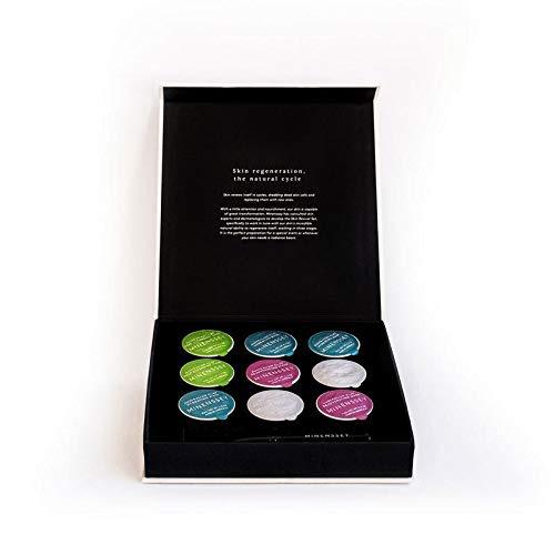 Minenssey 蔓索澳大利亞混合泥膜皮膚再生套裝9 粒裝 (粉, 黑, 綠, 白)