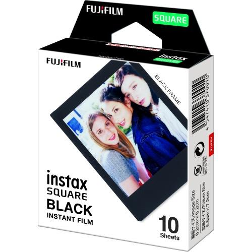 FUJIFILM INSTAX SQUARE BLACK FRAME FILM 富士即影即有菲林正方形黑邊相紙