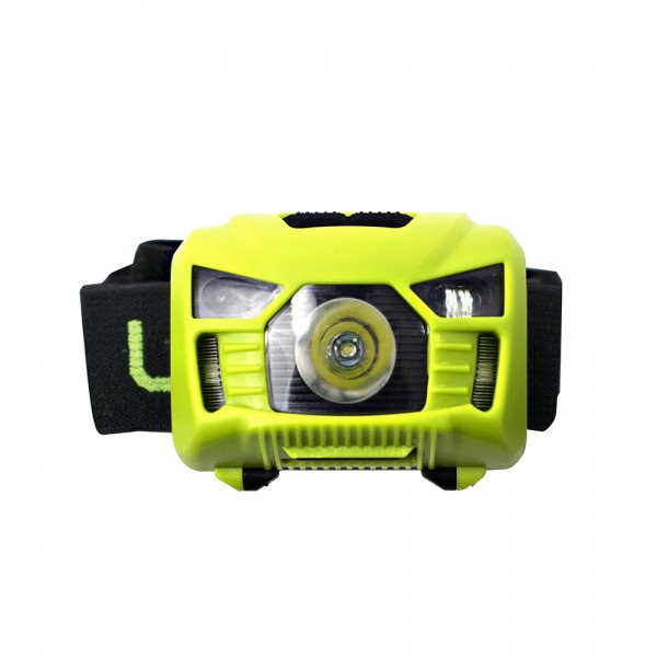 英國Luceco LED 3W PIR感應頭燈 USB 充電 LILH15P65 人體紅外線感應器 150流明 可調角度