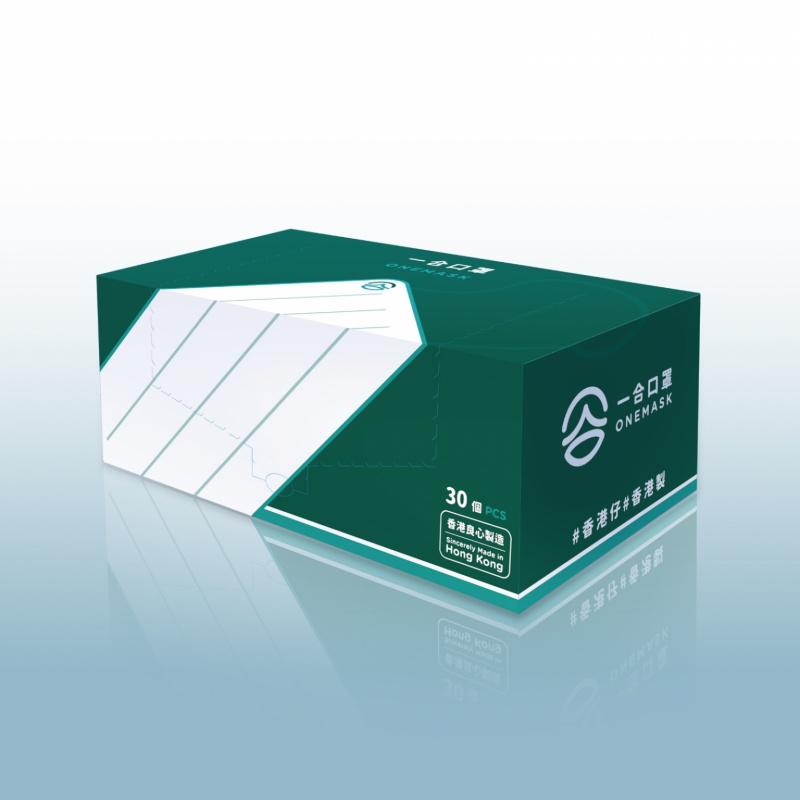 一合口罩 ASTM Level 1 標準優質成人口罩 [30個/盒]