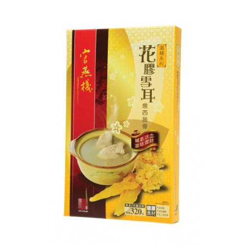 官燕棧燉湯-花膠雪耳燉西施骨 (320克)