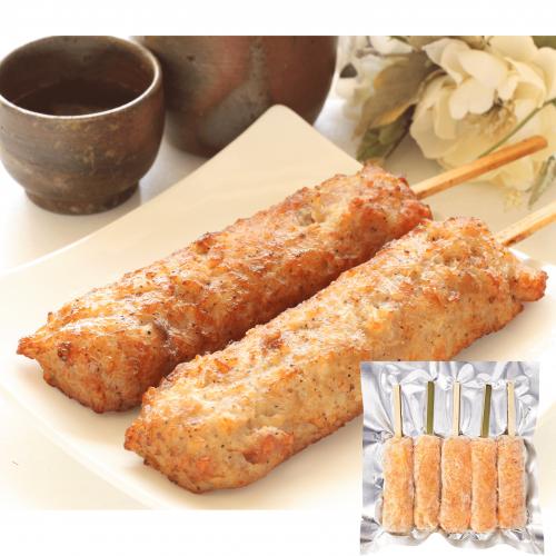 日本 免治雞肉軟骨棒 [5串入]