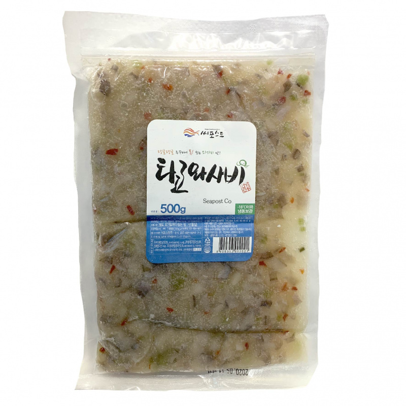 Seapost - 韓國即食芥末八爪魚章魚 500g