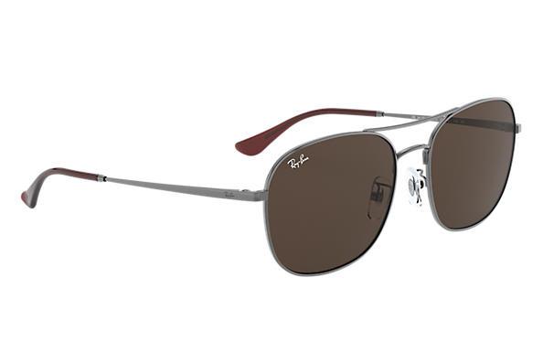 Ray-Ban RB3613D Brown Classic B-15 啡色經典B-15鏡片太陽眼鏡 | 004/73 金屬色鏡框