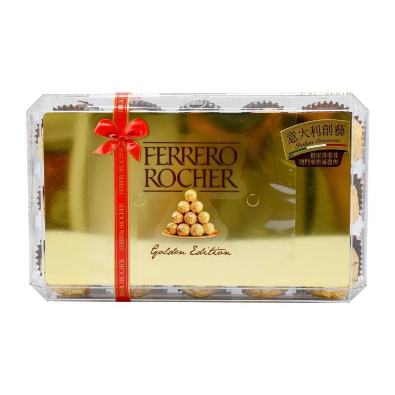 FERRERO ROCHER 費列羅 金莎朱古力禮盒30粒 (375G)