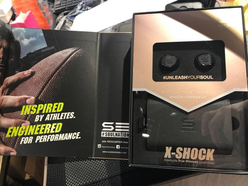 Soul X-Shock 真無線藍牙耳機 [黑色]