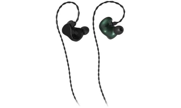 德國製造 InEar StageDiver SD4 / SD4S 專業監聽級 4 單元入耳式耳機 green metallic