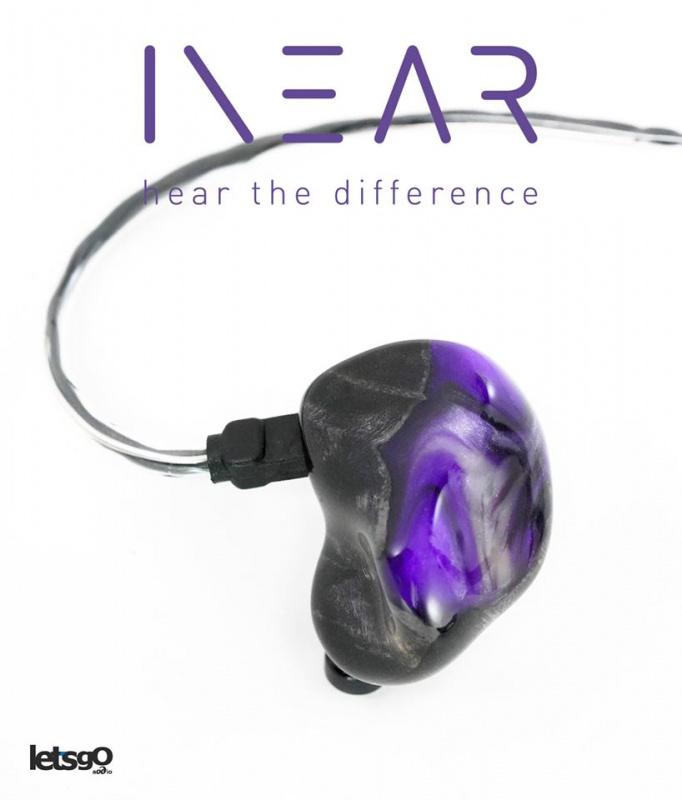 德國製造 InEar StageDiver SD5 / SD5S HIFI 級 5 單元入耳式耳機 resin violet