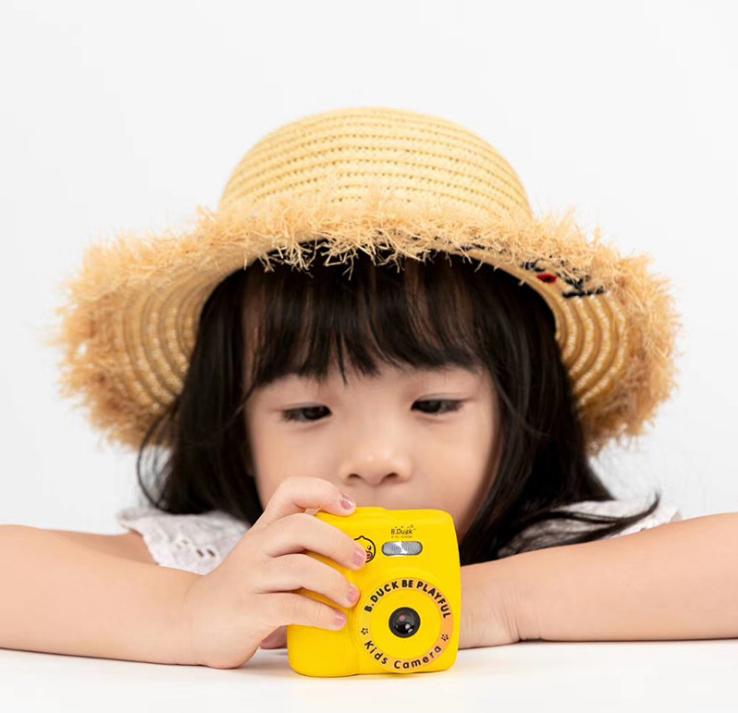 B.Duck 多功能兒童相機 1200萬像/720p錄影/2.0寸 IPS屏幕/多種相框