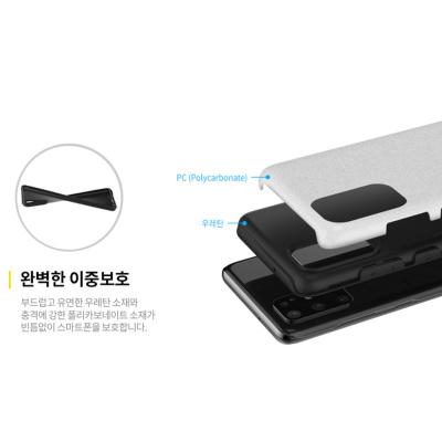 韓國NATIONAL GEOGRAPHIC Samsung S20/S20+/S20Ultra雙層防摔磨砂矽膠手機保護殼
