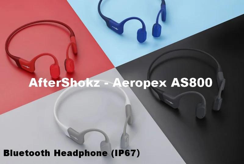 [香港行貨] Aftershokz 骨傳導藍牙運動耳機 Trekz Aeropex AS800【4色】