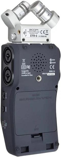 Zoom H6 Six-Track Portable Recorder 手提數位錄音機【香港行貨】