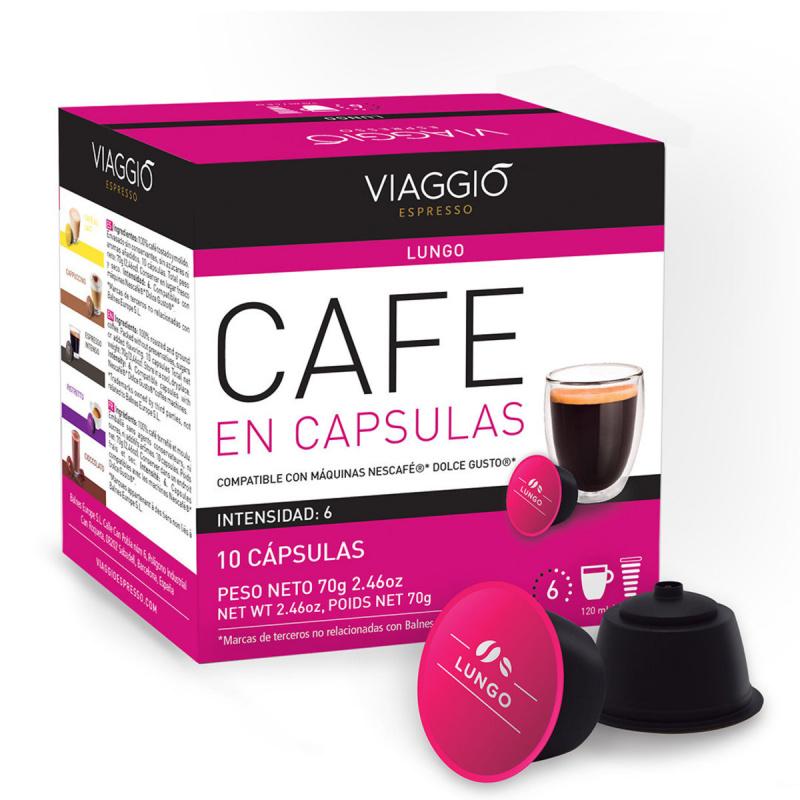 【VIAGGIO Espresso】DG03. 意大利6度長杯咖啡膠囊 (A-DG-06-10-M6)